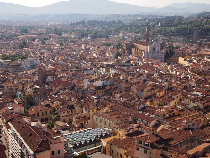 View from the Bell Tower, Florence