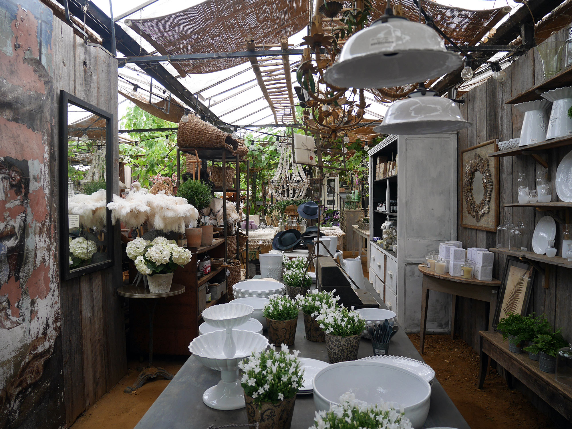 Petersham Nurseries London Sometime Traveller