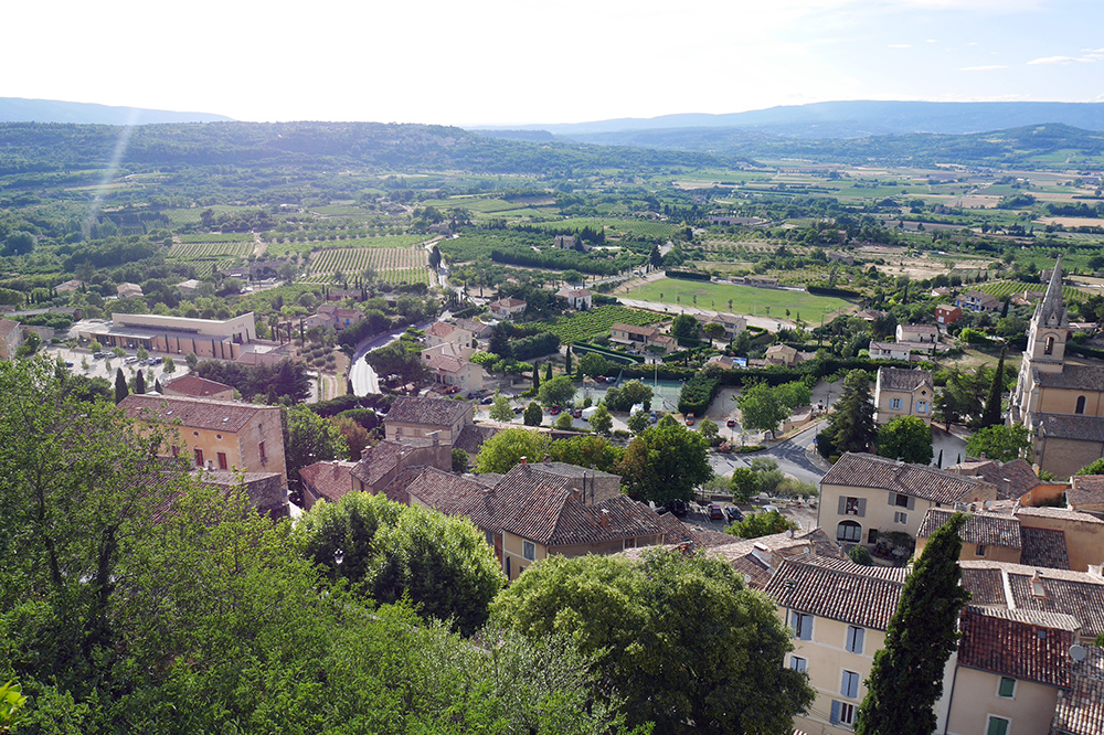 Bonnieux-views