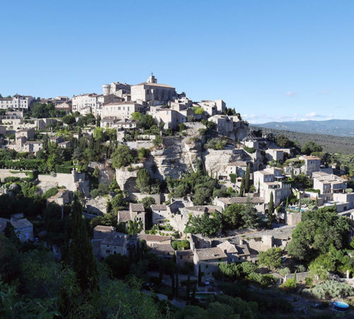 Gordes, one of the prettiest villages in Provence